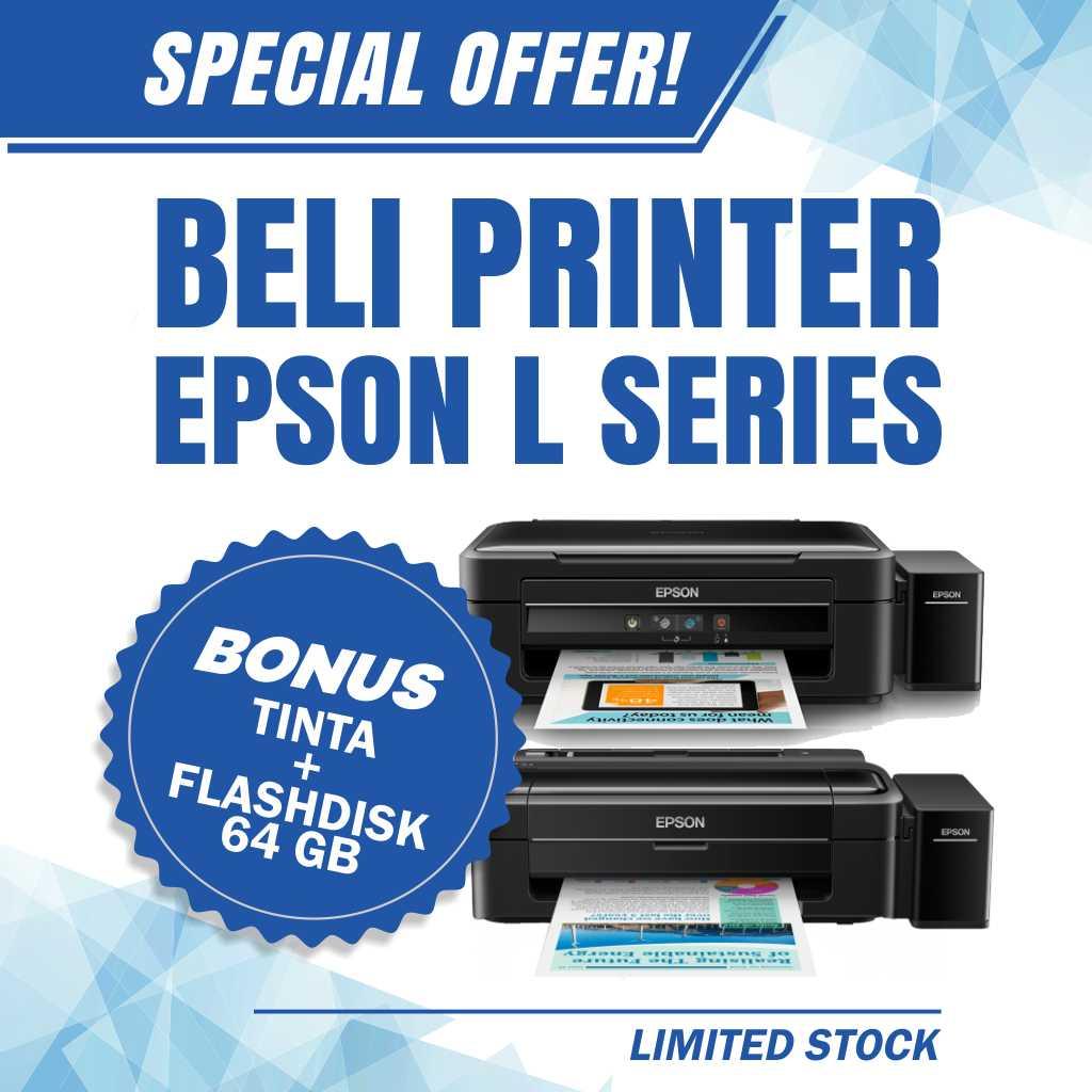 Promo Printer Epson L Series Murah