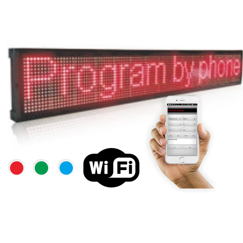 running text onfire running led display