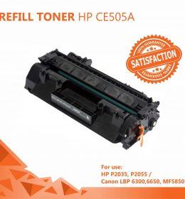 Refill Toner HP 05A