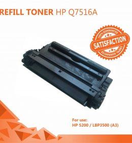Refill Toner Solo Murah - Refill Toner HP 16A