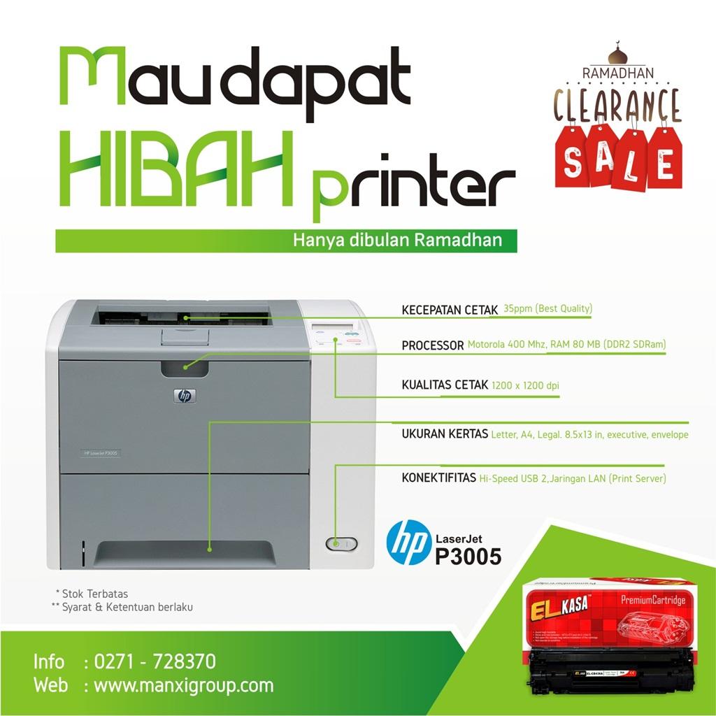 Promo Hibah Printer Ramadhan