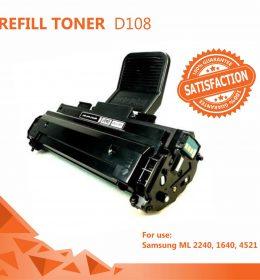Refill Toner Samsung D108