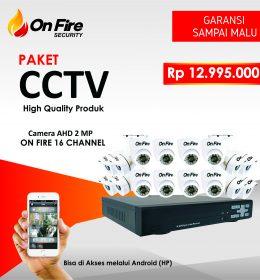 jual paket cctv 16 channel murah