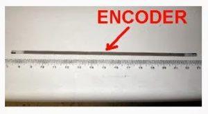 kerusakan printer - Encoder