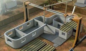 Printer 3D untuk membangun rumah