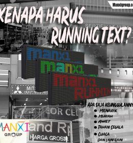 Keunggulan Running Text