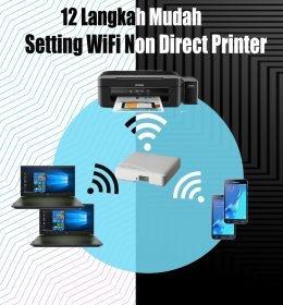 Setting WiFi Non Direct Printer