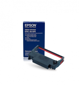 Epson TMU 220 ERC-38 Black/Red Murah