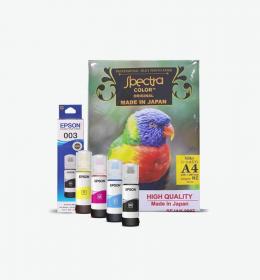 tinta epson losspack CMYK spectra