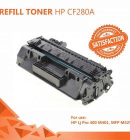 Refill Toner HP 80A