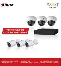 CCTV Dahua 6 Kamera